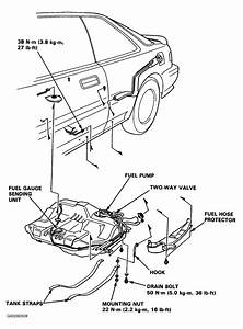 Honda Accord Fuel Pump Location