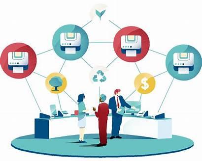 Managed Services Efficiency Impact Printer Fleet Everyday