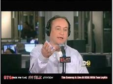 Tim Conway Jr And Tom Leykis On KCAL9 040108 YouTube