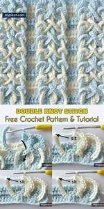 Crochet Double Knot Stitch