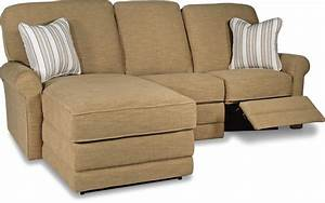 two piece reclining sectional sofa with laf reclining With sectional couch with 2 recliners