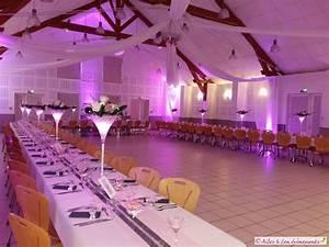 Idee Deco Salle De Mariage : d coration de mariage sur le th me du romantisme en rose et argent ~ Teatrodelosmanantiales.com Idées de Décoration
