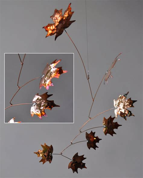 jay jones autumnal copper mobiles american craft council