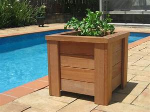 How To Build A Wooden Planter Box - Portable Gardening!