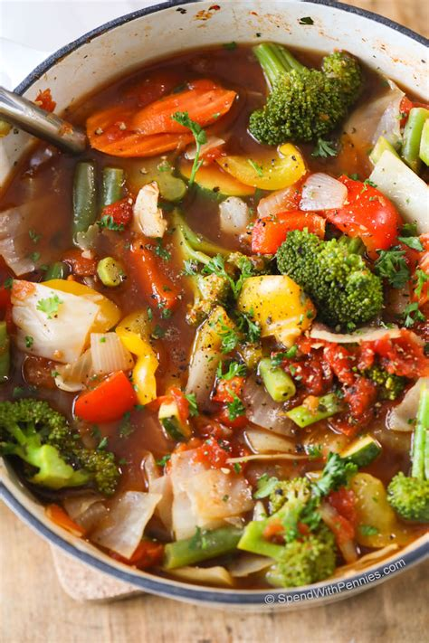 weight loss vegetable soup recipe keeprecipes