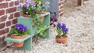 Etagere De Jardin Pour Plantes : fabriquer une tag re pour plantes ~ Teatrodelosmanantiales.com Idées de Décoration