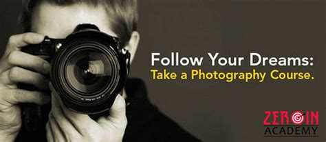 basic tips  choose  photography classes zeroin academy