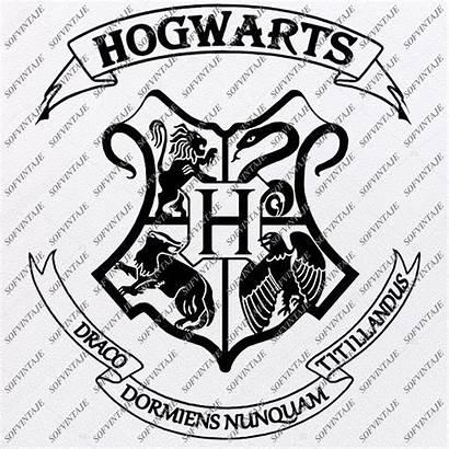 Harry Svg Hogwarts Muggle Emblem Potter Cricut