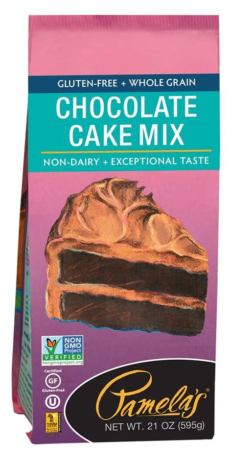 Gluten-Free Chocolate Cake Mix | Pamela's Products