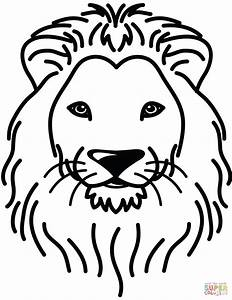 35 African Lion Coloring Page Free Coloring Page Coloring