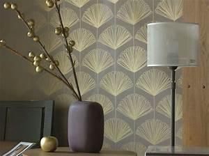 Papier Peint Japonisant : les papiers peints sortent le grand jeu elle d coration ~ Premium-room.com Idées de Décoration