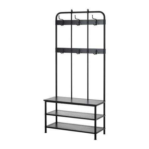 coat rack bench pinnig coat rack with shoe storage bench ikea 2292