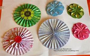 Fleur De Papier : des fleurs en papiers marylilyrose scrap tout ~ Farleysfitness.com Idées de Décoration