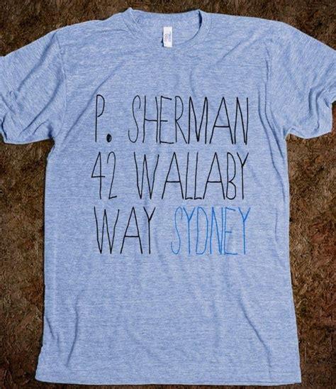 P. Sherman 42 Wallaby Way, Sydney | Athletic T-shirt ...