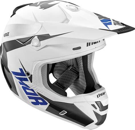 thor helmet motocross thor mx verge motocross helmet rebound white grey 1stmx