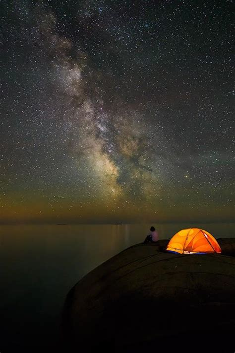 I Want To Go Camping To Take Pictures Of The Sky All Night