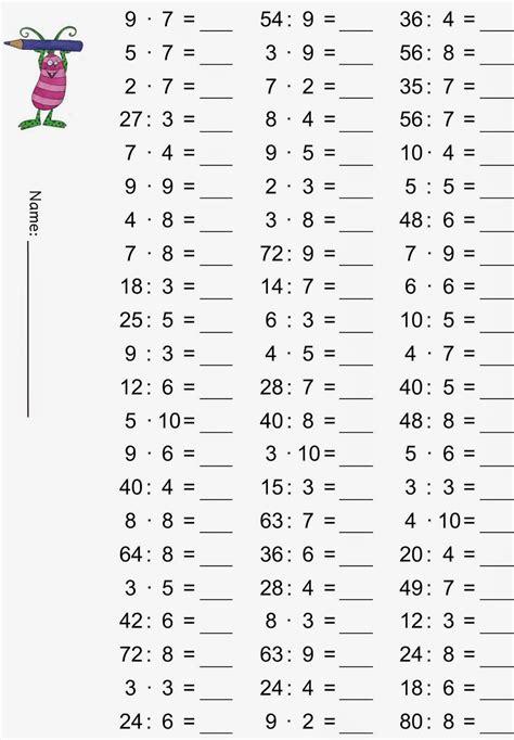 Kostenlose arbeitsblätter und übungen für mathe in der 1. Lernstübchen: Einmaleins - gemischte Übungsaufgaben