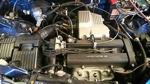 Wrecking 1999 Honda Crv Engine 2 0  B20b  J13525