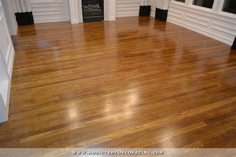 polyurethane for wood floors mini floor refinishing project addicted 2 decorating 174