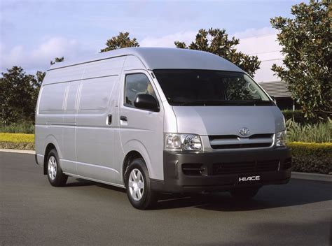 Review Toyota Hiace by Review Toyota Mk 5 Hiace 2005 On