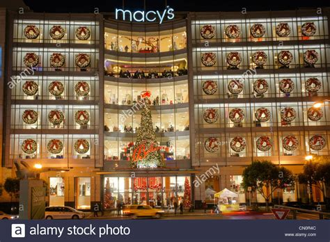 macys department store christmas decorations san