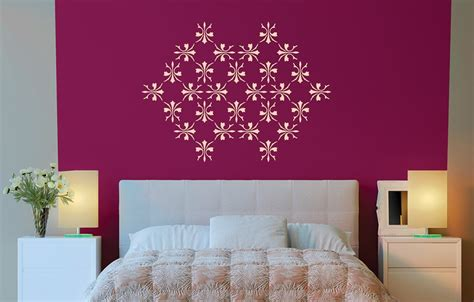 colourdrive home painting services wall stencil