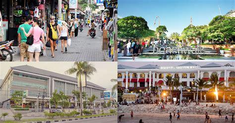 shopping spots  kuta bali popular  traveler