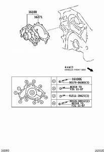 Lexus Rx 400h Engine Water Pump  Main Engine Water Pump