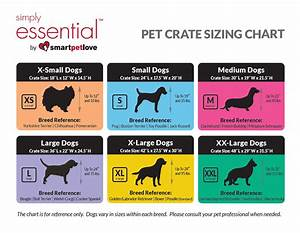 Double door crates for your new puppy smartpetlove for Dog crate sizes
