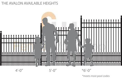 what is the height of a fence 4 rail spear top puppy picket metal drive gate fence workshop
