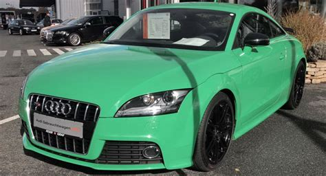 Modifikasi Audi Tt Coupe by Words In The Modification Car Audi Tts Porsche Green