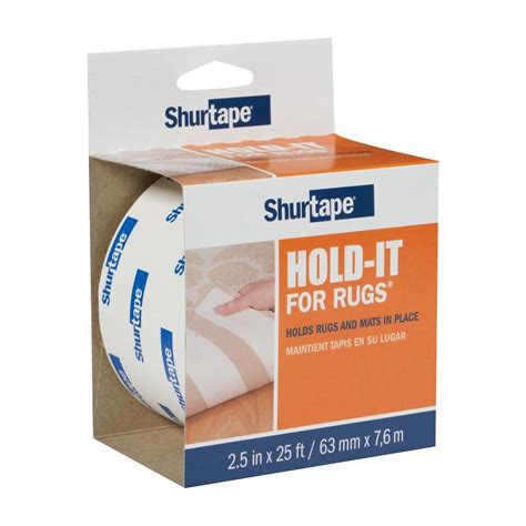 Shurtape Hold It For Rugs by Shurtape 2 5 In X 25 Ft White Sided Seam At