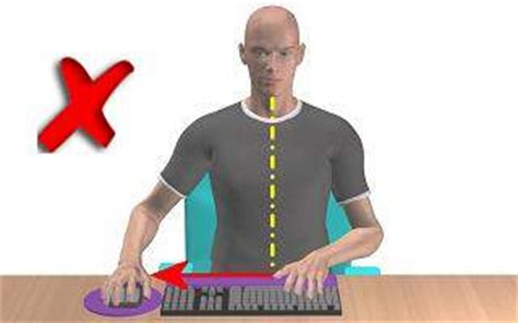 bureau avec ordinateur intégré comment bien aménager poste de travail sur ordinateur