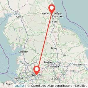 Manchester to Newcastle upon Tyne train from £21 | Gopili ...