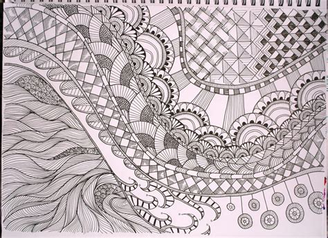 Coloring Zentangle free printable zentangle coloring pages for adults