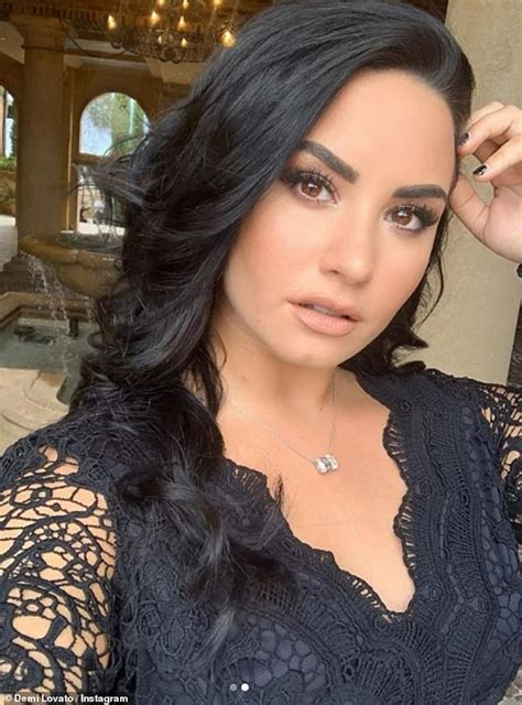Demi Lovato Shows Off New Rose Tattoo Mark Six Months