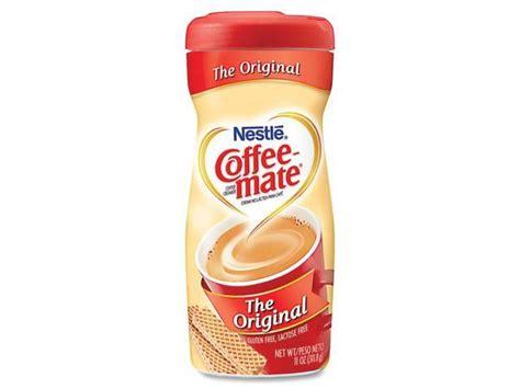 Water, sugar, coconut oil, less than 2. Coffee-mate 30152 Original Flavor Powdered Creamer, 11-oz. - Newegg.com