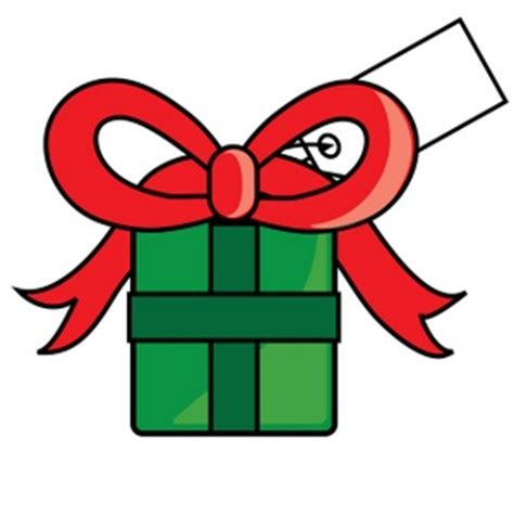 gift clipart image christmas present icon clipart