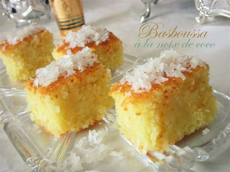 recette dessert noix de coco basboussa 224 la noix de coco le cuisine de samar