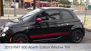2013 Fiat 500 Abarth Window Tint Beverly Hills Al  U0026 Ed U0026 39 S