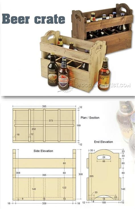 beer crate plans woodworking plans  projects