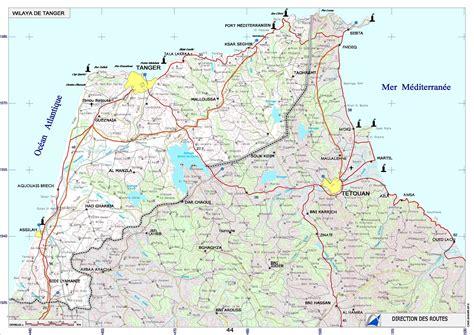 Carte Villes Maroc Pdf by Tanger Carte 187 Vacances Arts Guides Voyages