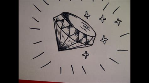 zeichnen ideen anfänger zeichnen lernen f 252 r anf 228 nger wie zeichnet einen diamanten
