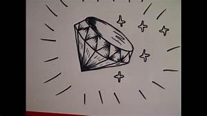 Zeichnungen Mit Bleistift Für Anfänger : zeichnen lernen f r anf nger wie zeichnet man einen diamanten youtube ~ Frokenaadalensverden.com Haus und Dekorationen