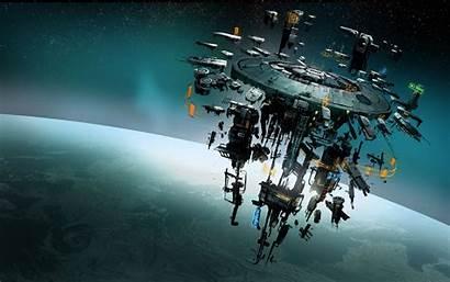 Sci Fi Space Spaceship Dangerous Futuristic Elite
