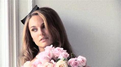 Natalie Portman Images Miss Dior> Making Of Video Captures Wallpaper Photos (27953264