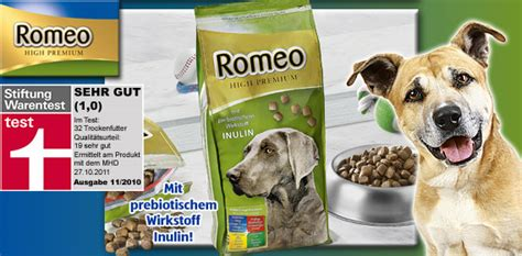 Nassfutter Hunde Stiftung Warentest