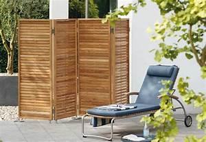 Balkon Sichtschutz Holz : garten moy bei paravents aus kunststoff sind zudem ~ Watch28wear.com Haus und Dekorationen