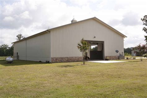 66' X 100' Huge Metal Home With Attached Barn
