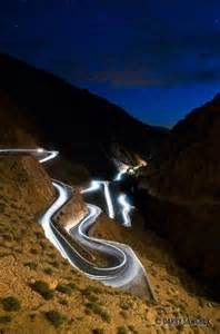 Winding Road Dades Gorge Morocco